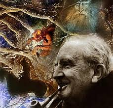 JRRTolkien, author of The Lord of the Rings 1965