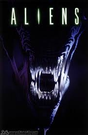 The 1986 film, Aliens, written and directed by James Cameron.