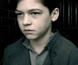 This boy in particular was born around the time the film takes place.