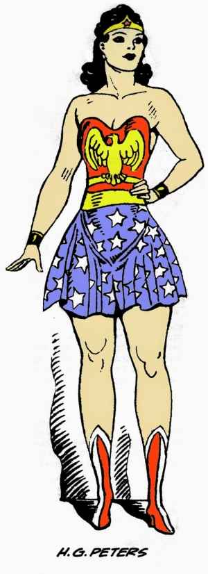 Wonder Woman from All Star Comics