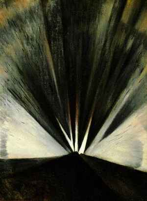 Explosion (1916). CRW Nevinson. Oil on canvas.