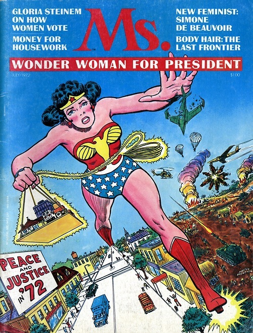 Wonder Woman on Ms Cover