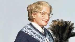 Robin Williams as Mrs. Doubtfire