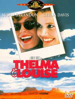 Thelma and Louise dvd cover.