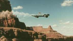 Thelma and Louise ends with the title characters driving over the Grand Canyon
