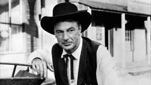The duty bound Will Kane (Gary Cooper) displays courage in the face of danger in High Noon.