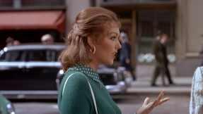 Judy Barton's vibrant character reflected in profile in Vertigo