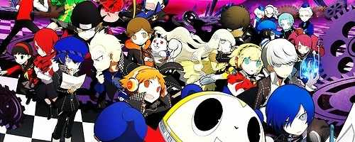 Persona Q promotional artwork