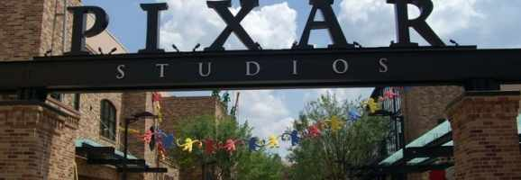 Entrance to Pixar animation studios.