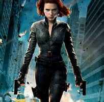 Scarlett Johannson as Black Widow in The Avengers Movie