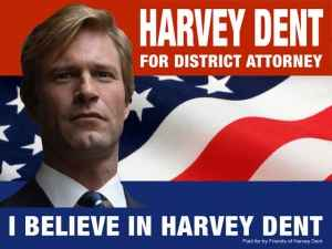 Harvey Dent: Gotham's white Knight