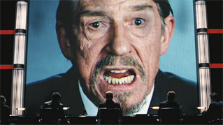 Adam Sutler: the face of oppression