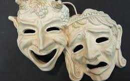 The Masks, or Personae, of Comedy and Tragedy