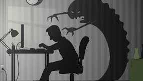A Writer's Shadow is his best friend.