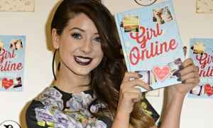 Zoe Sugg promoting her book. She has become vital for various advertisers.