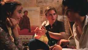 Intellectual discussions about culture abound between the trio in The Dreamers.