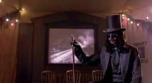 Glimpse of cinematograph peep show in Bram Stoker's Dracula