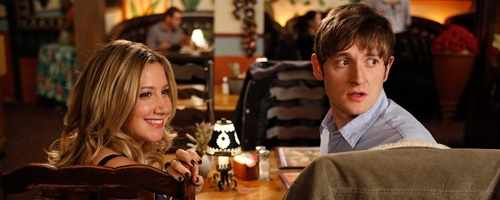 Aspiring actress Mary Louise (Ashley Tisdale) pretends to be Jimmy's girlfriend.