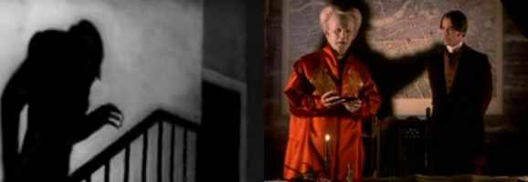 Examples of shadow in Nosferatu and Bram Stoker's Dracula