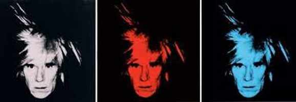 Andy Warhol 3 Multicolor Silkscreen