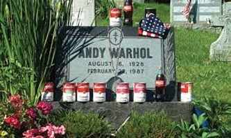 Andy Warhol Gravesite