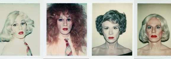 Andy Warhol Self Portraits in Drag