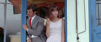 Jean-Paul Belmondo and Anna Karina: Two of French Cinema's Most Dynamic Stars