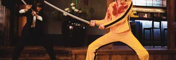 A Colorful, Very Bloody Battle from Kill Bill