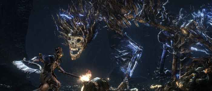 Bloodborne's Darkbeast Paarl is one of the game's many eldritch abominations.