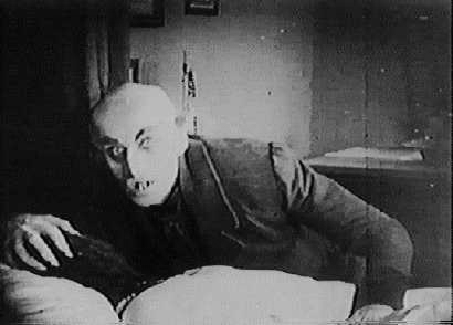 Nosferatu taking Helen's blood