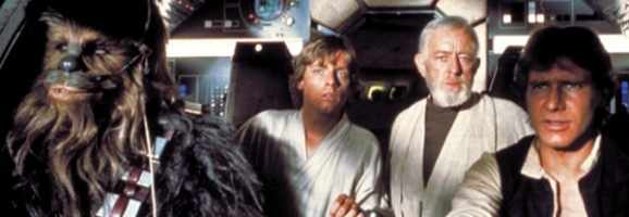 The only film in which a wookie can overshadow Alec Guinness and Harrison Ford.