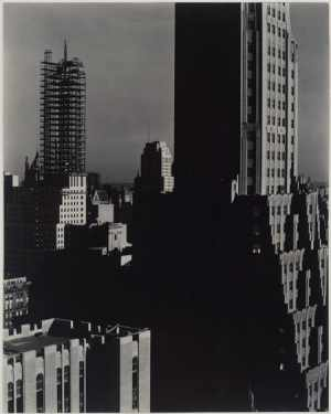 """Looking Northwest from the Shelton"" (1932) from Stieglitz's final series"