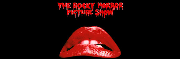 The red lips made famous by the Rocky Horror Picture Show movie posters.