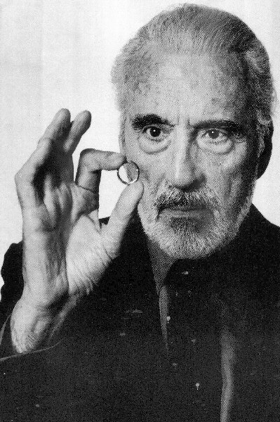 Christopher Lee's devotion to the Lord of the Rings