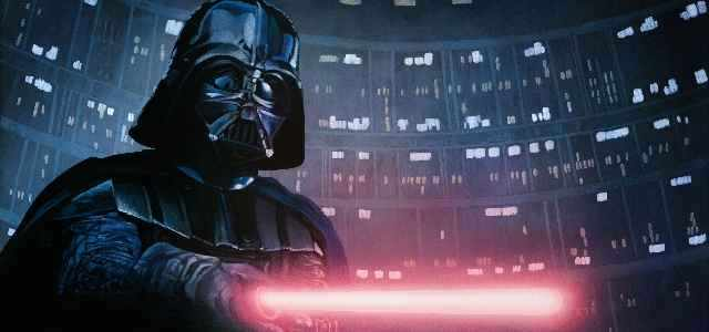 "Darth Vader reveals the truth about himself to Luke in ""The Empire Strikes Back"""