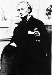 An 1855 portrait of Charles Baudelaire, by Nadar