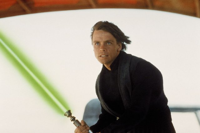 "Luke Skywalker in ""Return of the Jedi"""