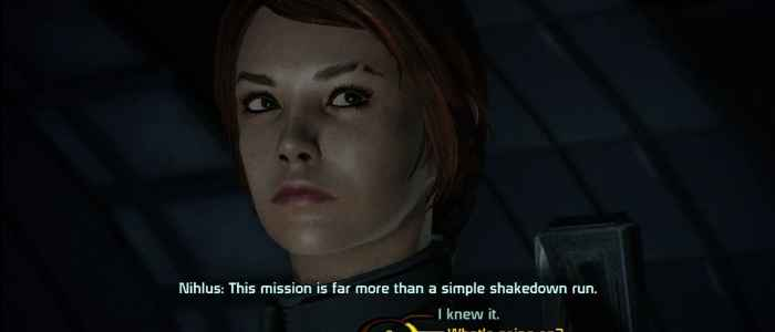 mass effect choices