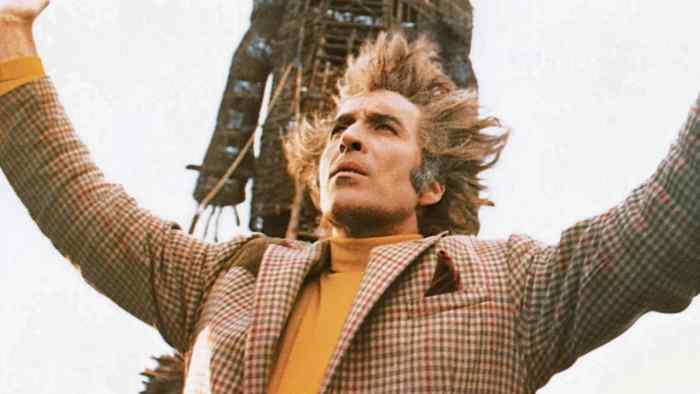 Christopher Lee as Lord in The Wicker Man