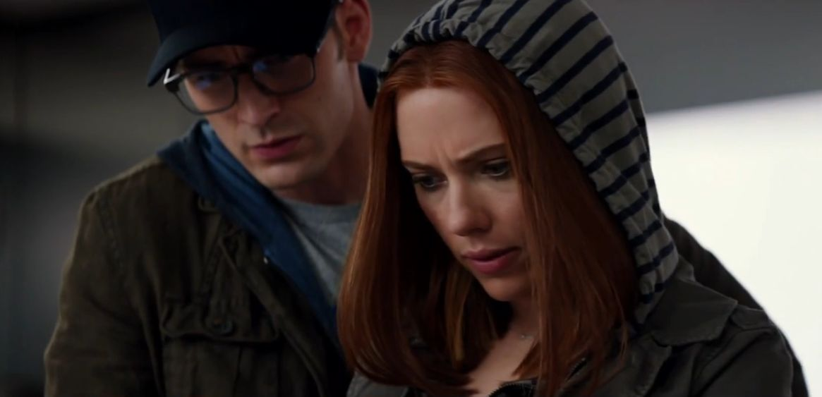 """Captain America and Black Widow become fugitives in """"The Winter Soldier"""""""