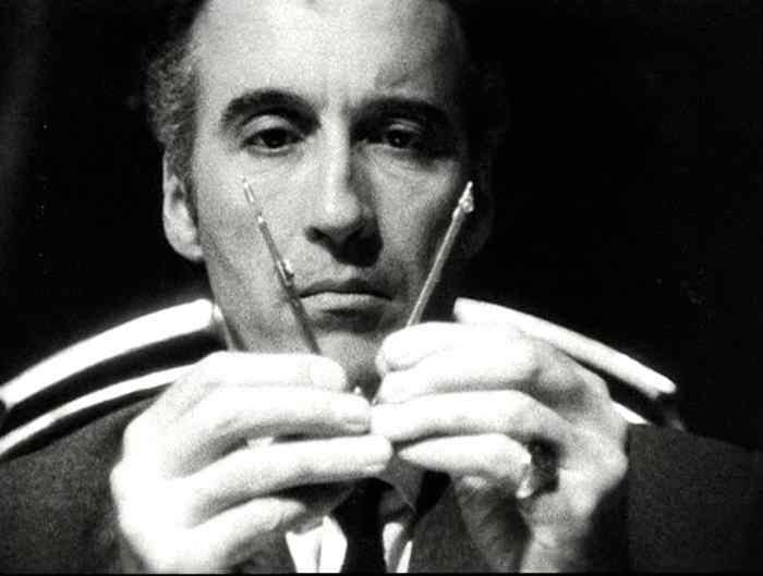 Christopher Lee in Le Umbracle
