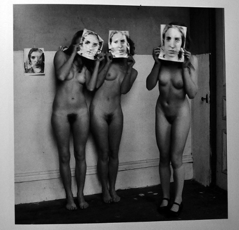 """Untitled, Providence, RI"" (1976) This untitled image is one of the most commonly cited photographs by those who view Woodman's art through a feminist lens."