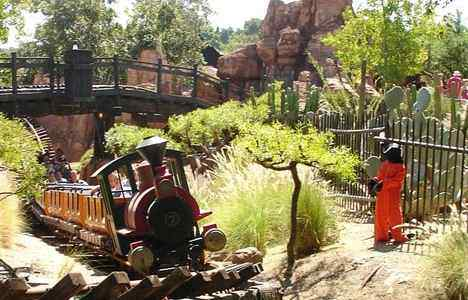 Banksy's Guantanamo Bay detainee display attracted some unwanted attention at Disneyland.