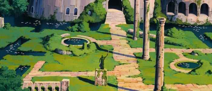 These gardens are the whole reason why Sheeta protected the castle so hard.