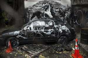 Crazy Horse Banksy
