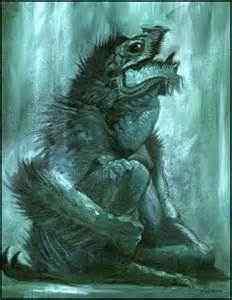 Dagon, the primordial fish-god
