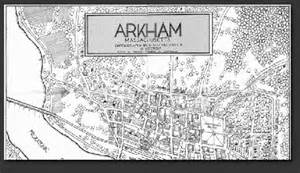 Map of Arkham