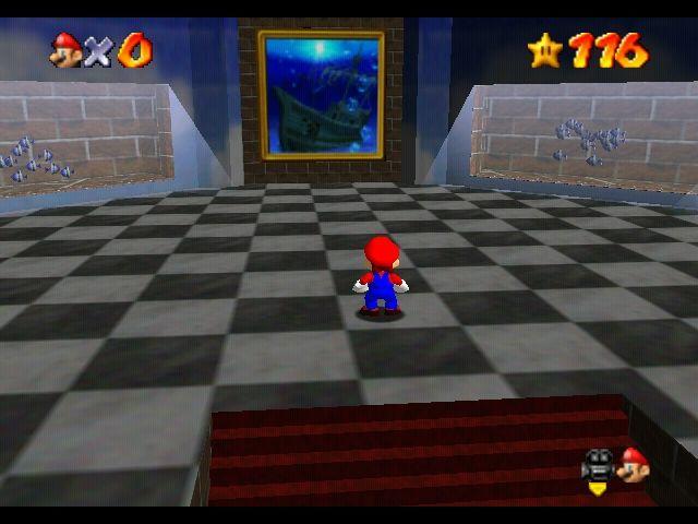 Mario 64 Painting