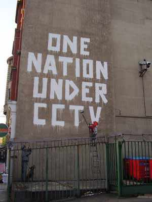 One Nation Under CCTV Banksy