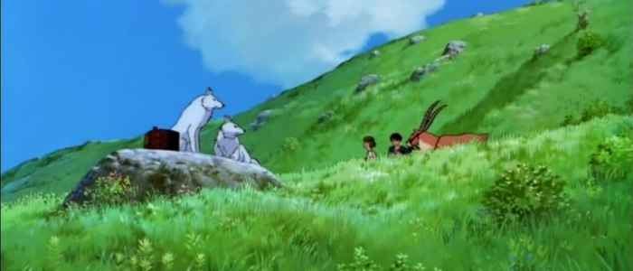 The animation sequence where all this grass grows only makes the scene more appealing.